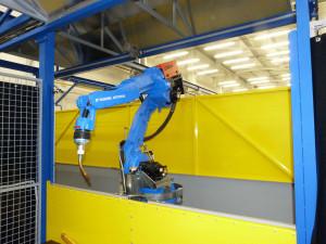 Obloukové svařování robotem v ochranných plynech