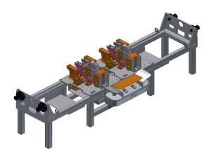 Upínací přípravek pro loketní opěrku – pro automobilový průmysl