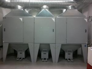 Modulární systém filtračních jednotek GM
